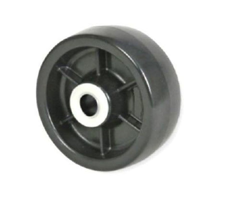 "Colson, Colson Solid Polyolefin 5"" x 1-1/2"" Wheel with 3/4"" Delrin Bearing 700# Cap"