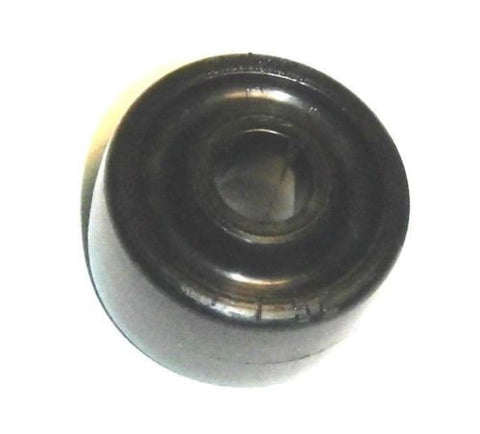 "Colson 1-5/8"" x 7/8"" Polyolefin Wheel with 7/16"" ID [1-1-53] 75# Cap."
