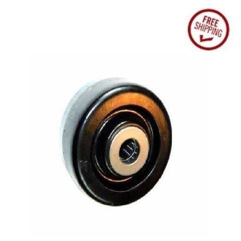 "Narrow Profile, DuraStar 4"" x 1-1/2"" Phenolic Wheel with 3/4"" ID Bearing 500# Cap. Black (One)"