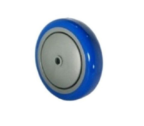 "Superior Brand, Import 5"" x 1-1/4"" Polyurethane Wheel with 3/8"" ID 300# Cap (One)"