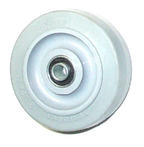 "Colson, Colson 3-1/2"" x 1-1/4"" Soft Rubber Wheel with 3/8"" ID [2-3-445] Performa"