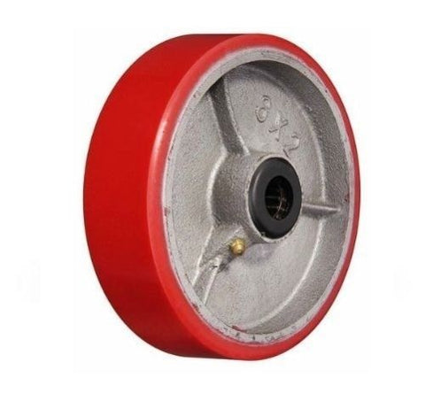 "Superior Brand, DuraStar 8"" x 2"" Polyurethane Wheel with 3/4"" ID Steel Core (One)"