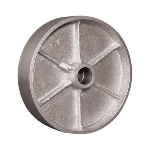 "Superior Brand, Maxrok 8""x2"" Cast Iron Wheel 1/2"" ID WEZ-0820-STR 1400# Load Hit Temp / -45 F"