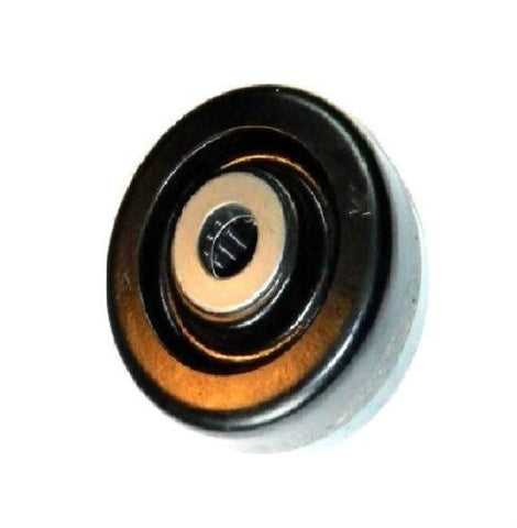 "Superior Brand, Durable 4"" x 1-1/2"" Phenolic Wheel w/ 3/4"" ID Roller Bearing 500# Cap Black One"