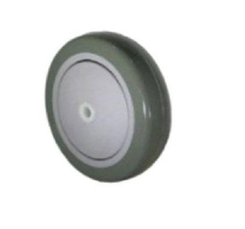 "Superior Brand, Import 4"" x 1-1/4"" Polyurethane Wheel with 3/8"" ID 250# Cap (One)"
