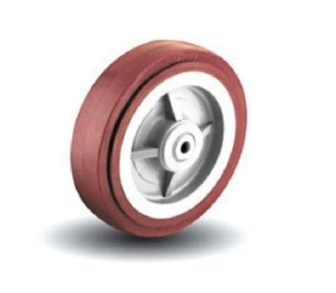 "Colson, Colson 4"" x 2"" Polyurethane Wheel and 1/2"" ID 5-4-929 Maroon /"