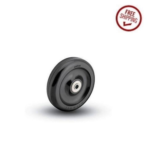 "Colson, Colson 4"" x 1-1/4"" Polyolefin Wheel with 3/8"" ID (275# Cap.) [2-4-53]"