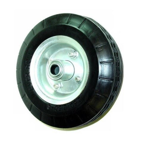 "Superior Brand, Centered Hub 8"" x 2"" Flat Free Wheel ""Never Goes Flat"" Tire 2.80/2.50-4"