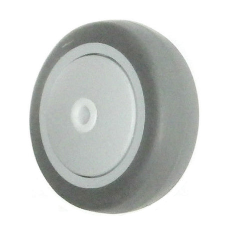 "Superior Brand,  2 Series Wheel (4"" Dia. 1-1/4"" Wide with 3/8 ID - 200# ) / 200# Cap."