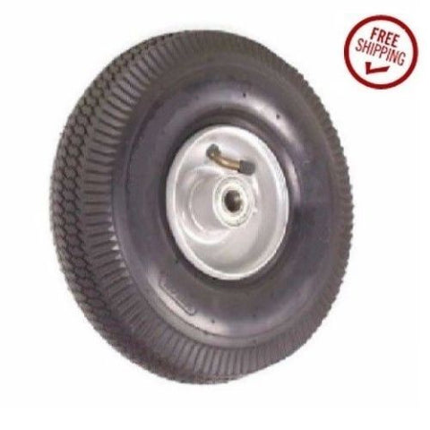"Superior Brand, Centered Hub (3-1/4"" Long Hub) 8"" Pneumatic Tire (300lbs. Cap.) 1/2"" ID"