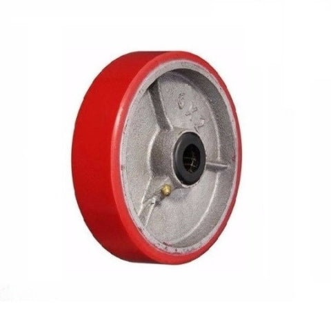 "Superior, DuraStar 6"" x 2"" Polyurethane Wheel with 3/4"" ID Steel Core"