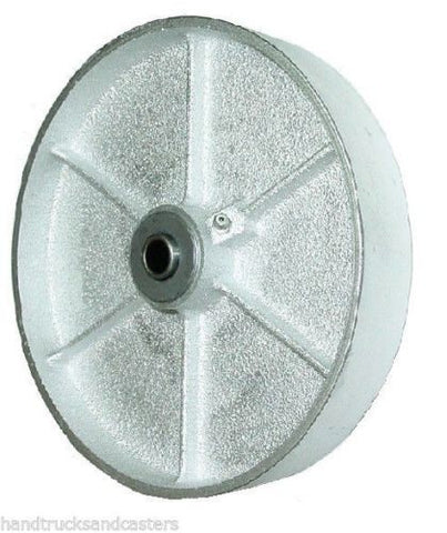 "Superior Brand, Import 6"" x 1-1/2"" Steel Wheel with 1/2"" ID (Gray)(700# Cap.) /"