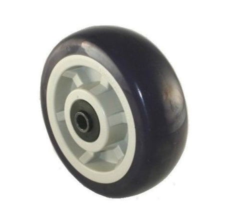 "Patriot, Patriot 6"" x 2"" Polyurethane Wheel with 1/2"" ID Blue 1000# Cap. (One)"
