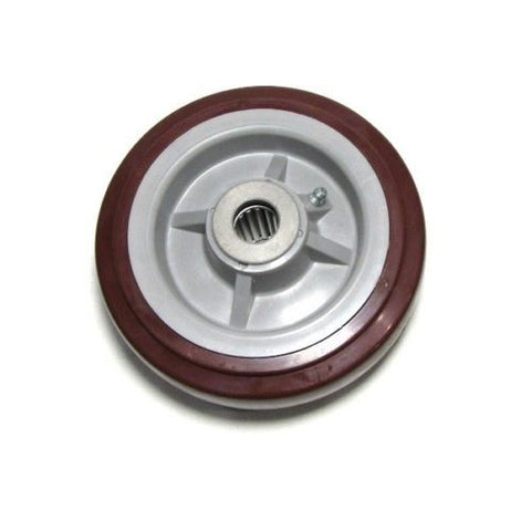 "PolyPro Brand, One Polyurethane 6"" x 2"" Caster Wheel with 1/2"" ID Roller Bearing"