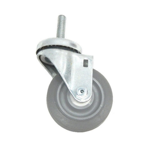 "Superior Brand,  One Swivel 3-1/2"" x 1-1/4"" Performa Wheel and 1/2"" -13 Threaded Stem"