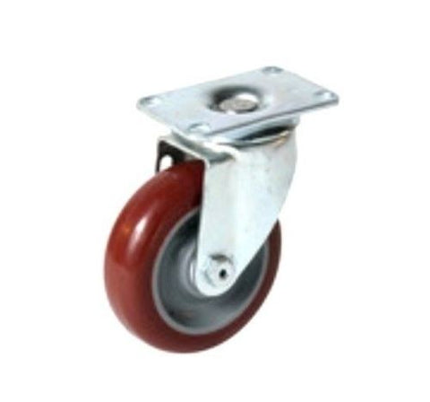 "Colson, Colson Swivel Caster with 3-1/2"" x 1-1/4"" Hi-Tech Polyurethane Wheel 2-3256-95"