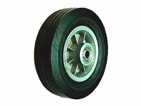 "Superior, Offset Hub Hand Truck Tire 8""x2-1/2""-5/8"" ID Solid Rubber Ball Bearings 450#Cap"