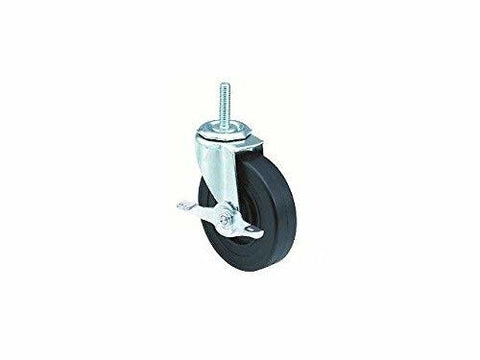 "Superior Brand, DuraTek Swivel Stem Caster 5""x1"" Hard Wheel (1/2"" Threaded Stem) (250# Cap)"