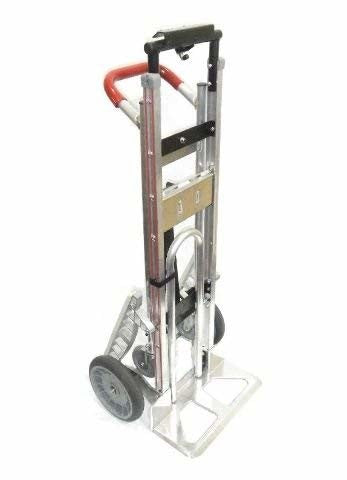"Liberator, TPA Vinyl Grip Handle 18"" Nose 10"" Tire Convertible 3-Position Hand Truck"