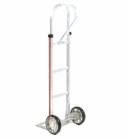 "General Purpose Hand Truck or Two-Wheeler with 18"" Nose Plate w 10"" Solid Tires"