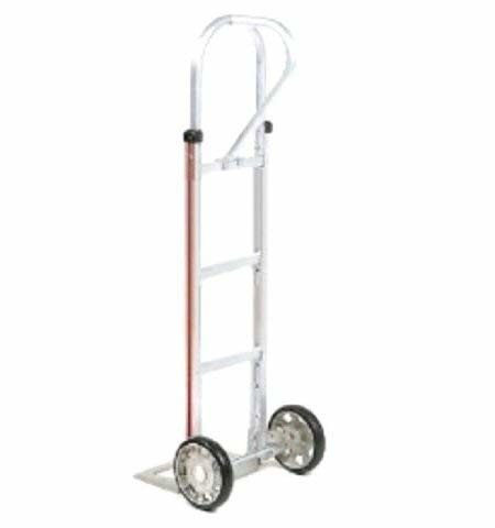 "Modular, General Purpose Hand Truck or Two-Wheeler with 18"" Nose Plate w 10"" Solid Tires"