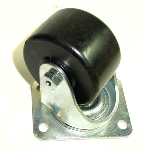 "Superior, Heavy Duty Swivel Stem Caster 3""x1-1/2"" Maxim Wheel 2-5/8""x3-5/8"" Plate One"