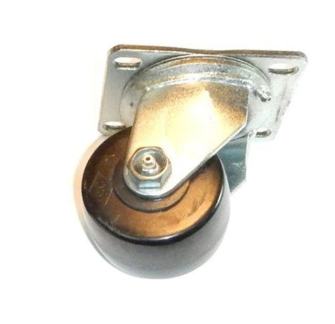 Superior Brand, Low Profile Hardened Steel Heavy Duty Swivel Plate Caster 1000# Cap with Phenol
