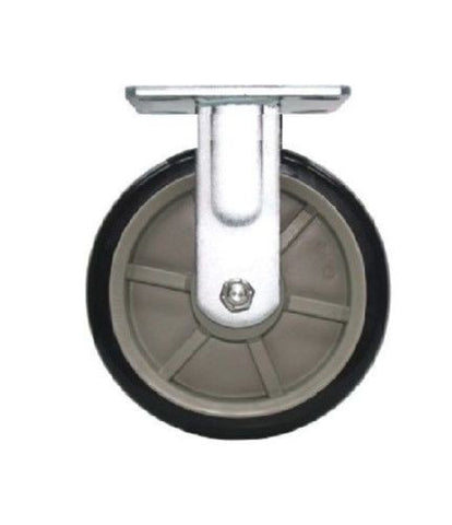 "Superior Brand, Polyurethane Patriot Rigid Caster with 5"" Wheel 800# Capacity and Sealed Bearing"