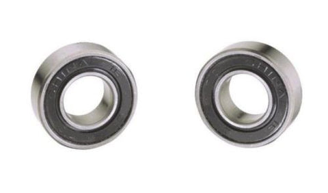 "Load Wheel Bearing, (Pack of 2) Ball Bearings for Pallet Jack Load Wheels 1.5748"" OD x .7479"" ID"