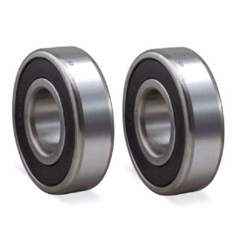 2 Pack Stainless Steel Bearings 17mm ID x 40mm OD x 12 mm Thick SS6203-RS-BLUE