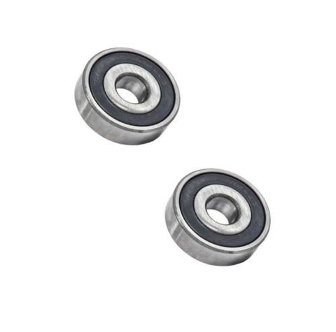 Med-Caster, [Pack of 2] Stainless Steel Sealed Ball Bearings 17mm ID x 40mm OD