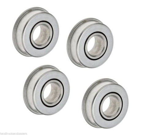 "Colson, [4] Precision Sealed Ball Bearings 1-3/8"" OD x 5/8"" ID 1-3/8"" OD (Hand Truck)"