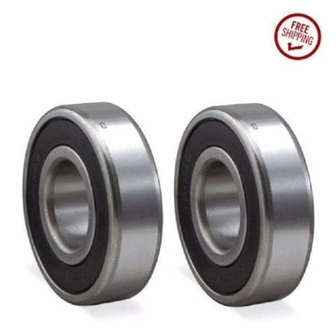 [2] Stainless Steel Precision Sealed Ball Bearing 17mm ID x 40mm OD SS6203
