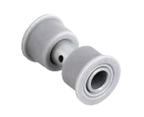 "[2] Stainless / Nylon Bushing (Wheel ID of 3/4"" and 1/2"") 1-3/16"" OD x 3/4"" ID"