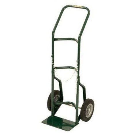 "Heavy Welded Steel, Welded Steel Hand Truck Series 700 Single Gas Cylinder 10"" Wheels"