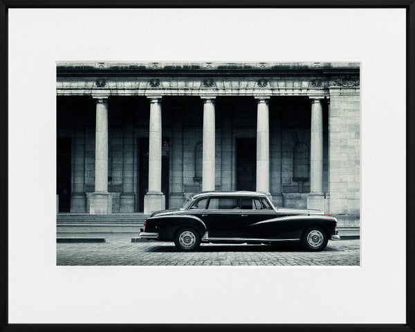 Ivo Ivanov-MERCEDES BENZ 300 ADENAUER--limited editions-Monochrome Hub-Gallery for Fine Art Photography