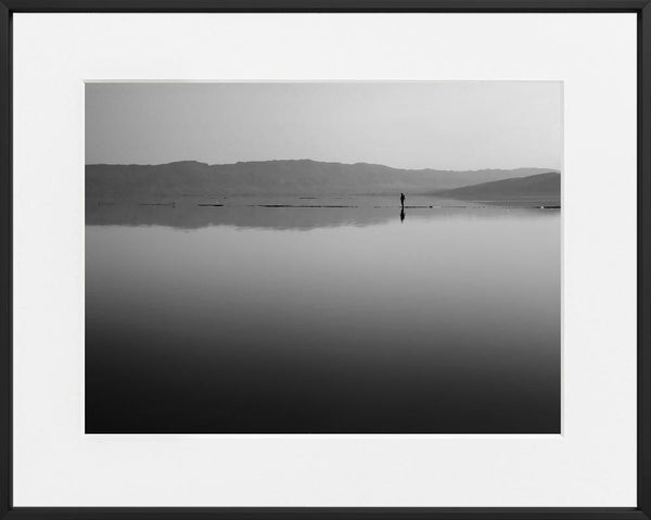 Krasimira Pastirova-WALKING ON THE WATER--limited editions-Monochrome Hub-Gallery for Fine Art Photography