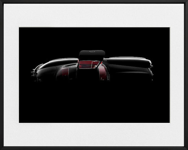 Ivo Ivanov-MERCEDES BENZ 300SL-TOP--limited editions-Monochrome Hub-Gallery for Fine Art Photography