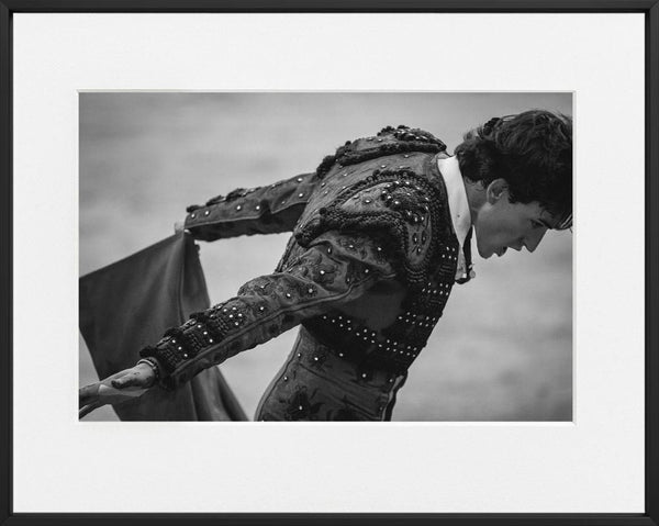 Juan Pedro Cano-PLAZA DE TOROS DE REQUENA #4-50x70 cm-photographs-Monochrome Hub-Gallery for Fine Art Photography