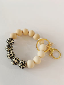 Leopard Key Ring