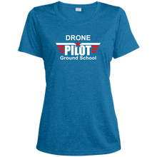 Load image into Gallery viewer, Women's Moisture-Wicking T-Shirt — Drone Pilot Ground School