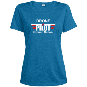 Women's Moisture-Wicking T-Shirt — Drone Pilot Ground School