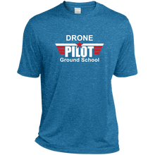 Load image into Gallery viewer, Men's Moisture-Wicking T-Shirt — Drone Pilot Ground School