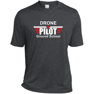 Men's Moisture-Wicking T-Shirt — Drone Pilot Ground School