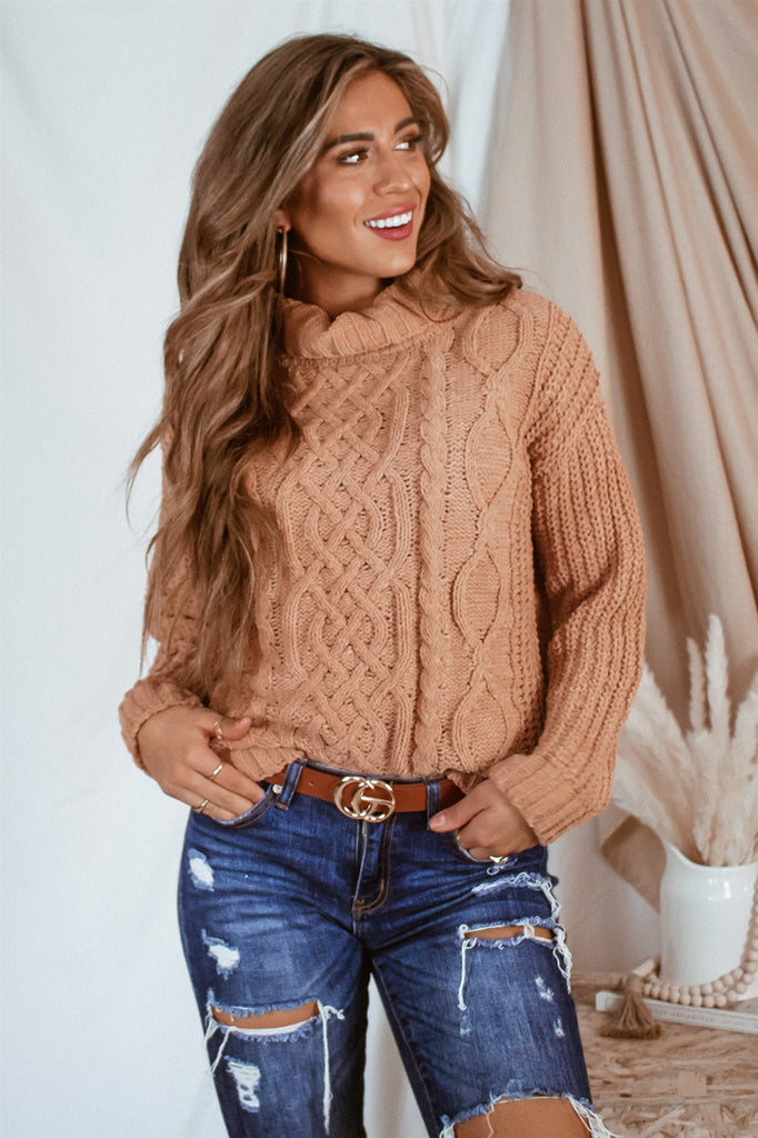 The Nora Cable Knit Sweater