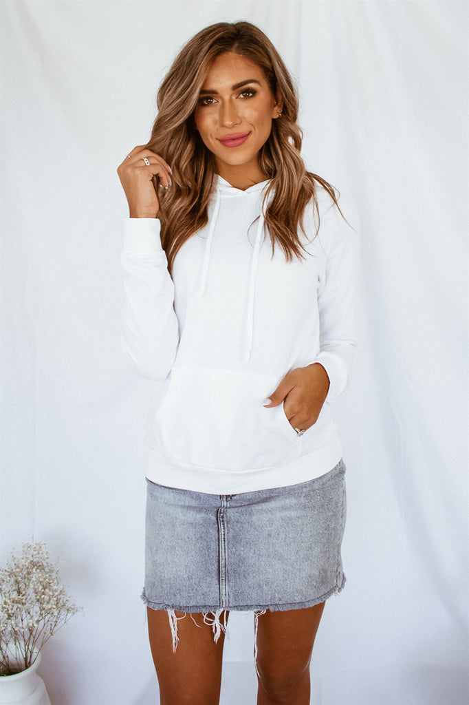 Get Cozy Hoodie - White