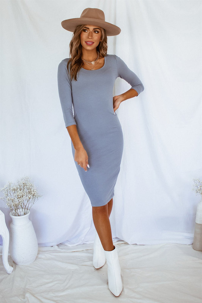 The Demi Dress - Blue
