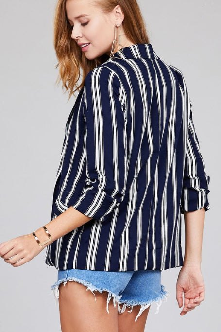 The Denver Striped Blazer