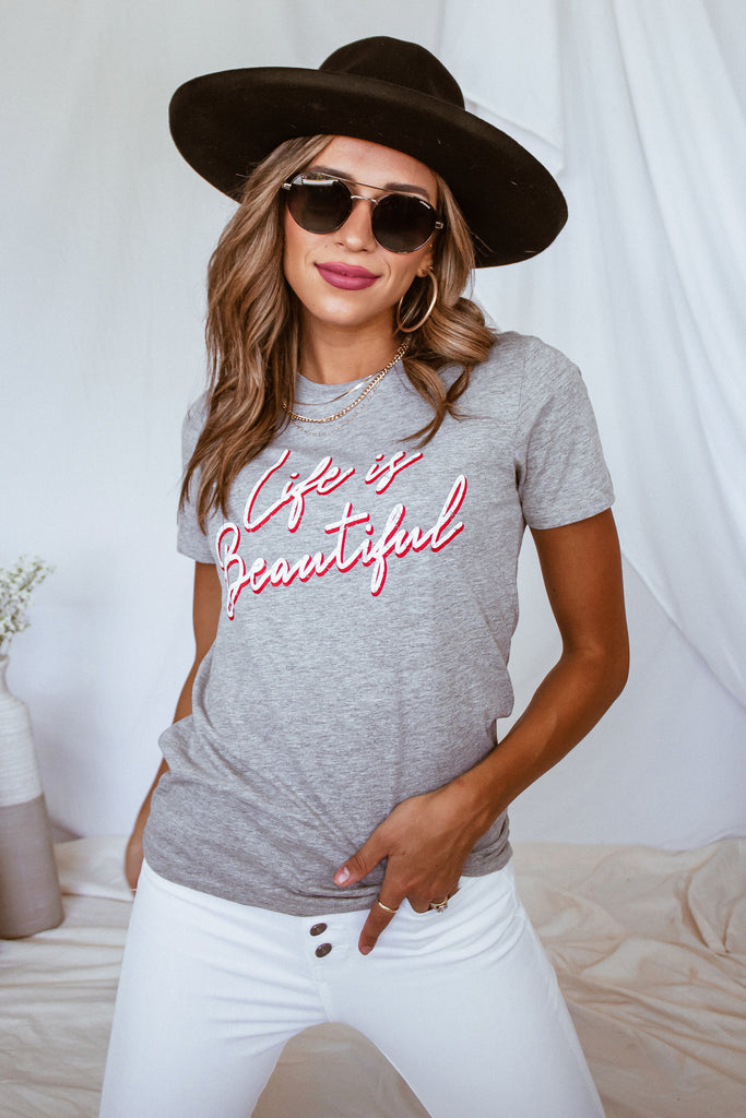Life Is Beautiful Graphic Tee