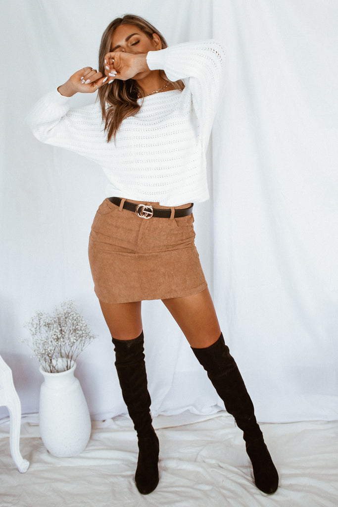 The Charlotte Knit Sweater